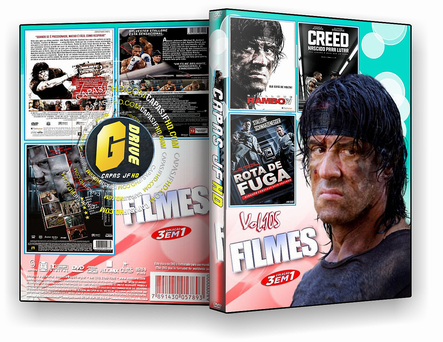 DVD COLEÇÃO FILMES 3X1 VOL.105 - ISO