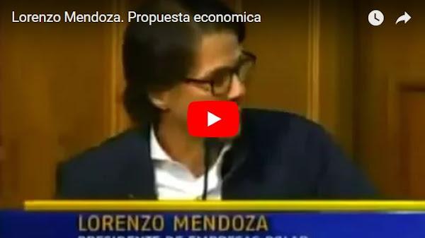 La Propuesta Económica de Lorenzo Mendoza para su próximo gobierno