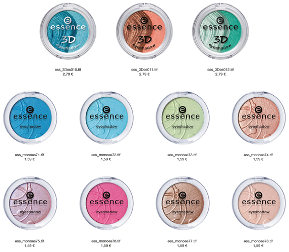 Essence Eyeshadow 3D e Mono