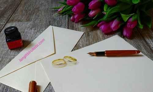 Kutipan Undangan Pernikahan Bahasa Inggris - langitbirukata.com