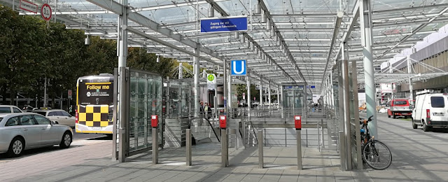 Flughafen Nürnberg - U-Bahnstation
