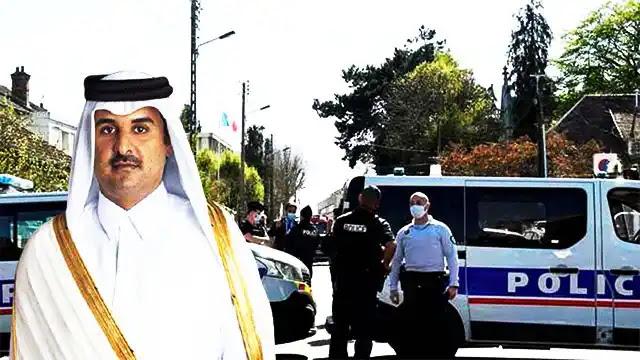 قصر أمير قطر تميم بن حمد آل ثاني في فرنسا يتعرض لسطو مسلح