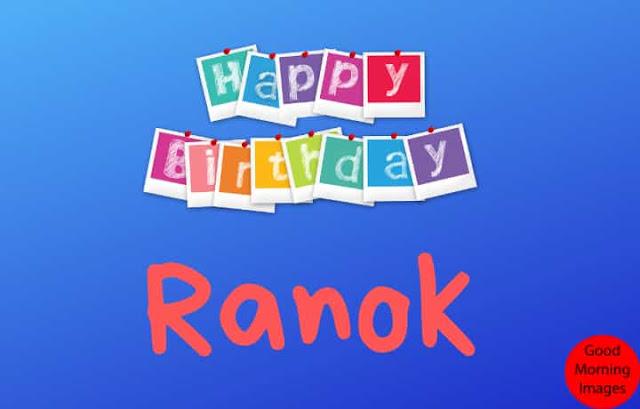 Happy Birthday Ranok