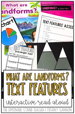 landforms text features