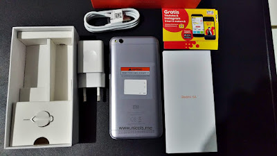 Kelengkapan Pembelian Xiaomi Redmi 5A garansi TAM