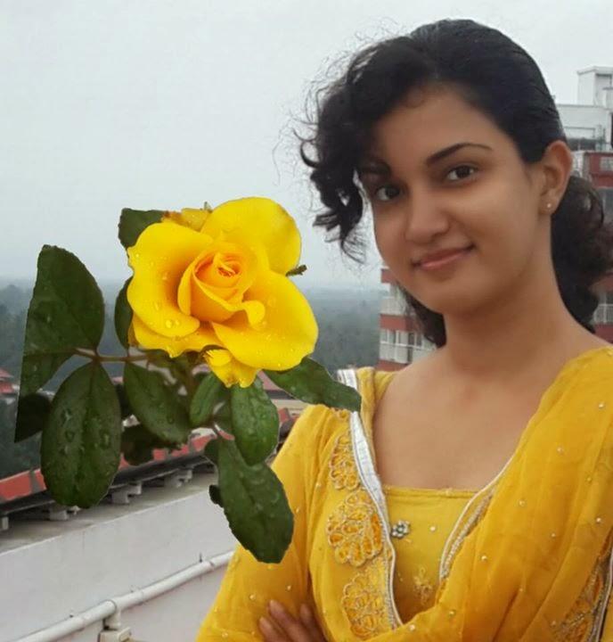 Honey Rose In Yellow Churidar Sexy Photos Malayalam