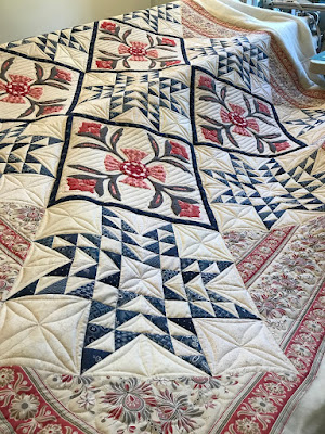Andrea's large quilt