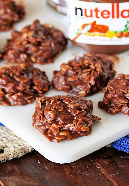 Nutella No-Bake Cookies Image