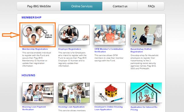 pagibig online services