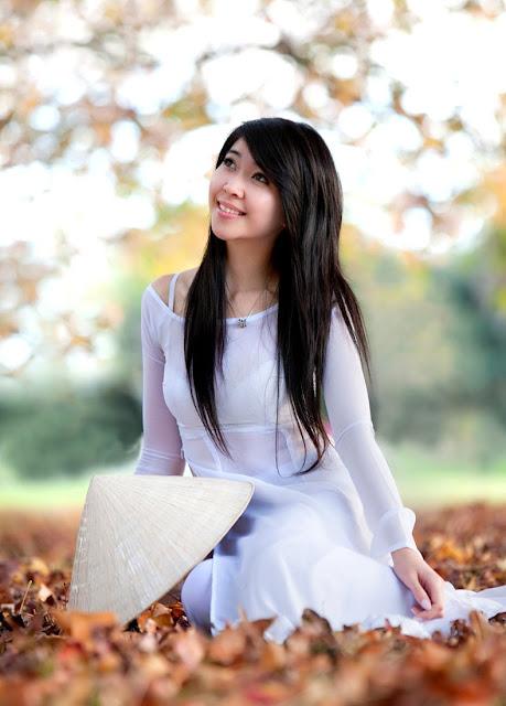 Chicas asiaticas con Sombrero