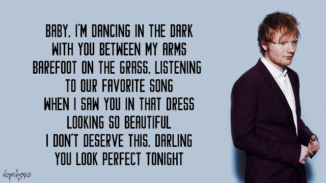 Ed Sheeran - Perfect lyrics - Ed Sheeran Lyrics