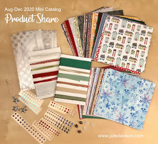 Stampin' Up! Aug-Dec 2020 Mini Catalog Product Share -- offered by Julie Davison, www.juliedavison.com #stampinup