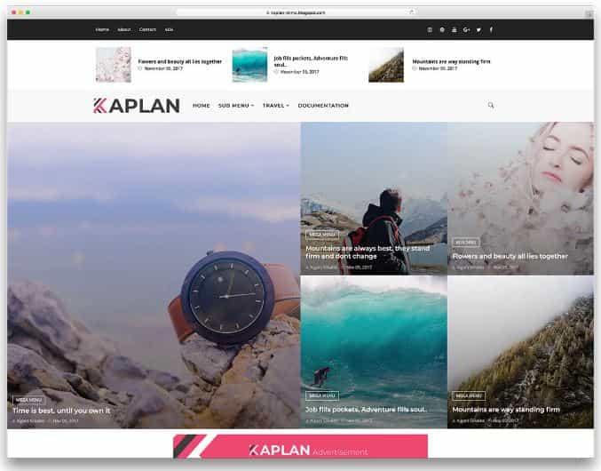 Kaplan Blogger templates