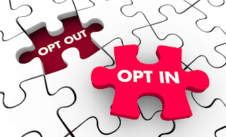 Opt In or Opt Out Puzzle Piece