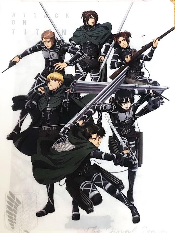 Shingeki no Kyojin: The Final Season, ilustración especial
