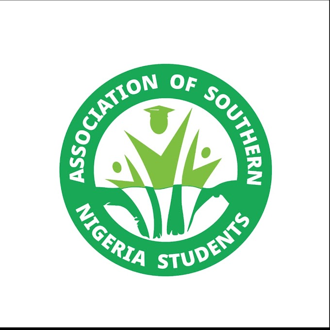 ASONIS National PRO reveals- Association Of Southern Nigerian Students (ASONIS) set to hold Crime Prevention Education in the south east, south south and south west region of Nigeria
