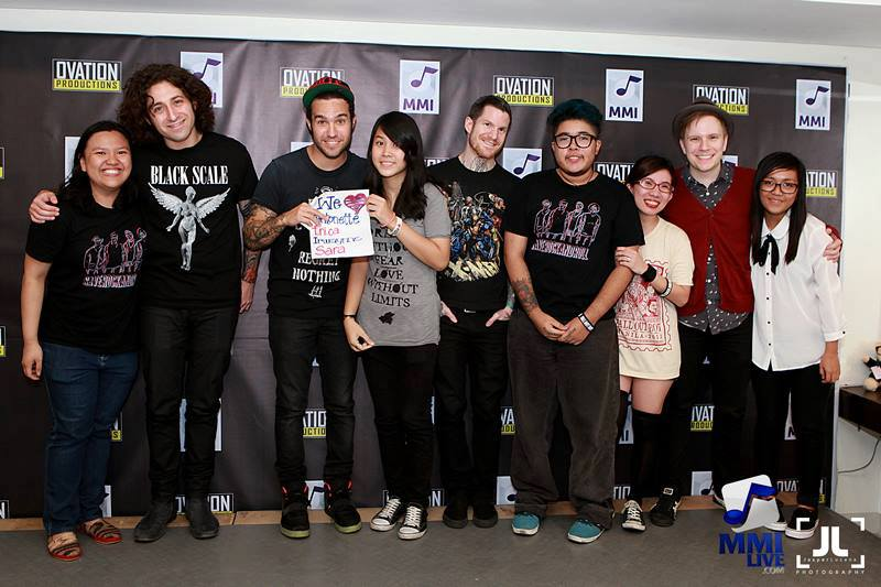 fall out boy meet and greet seattle