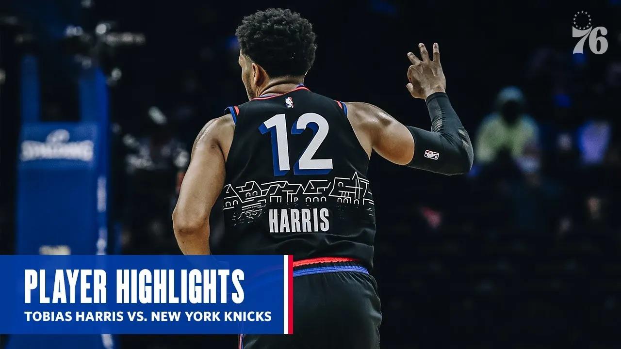 Tobias Harris 30pts vs NYK   March 16, 2021   2020-21 NBA Season