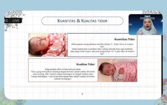 Kualitas tidur dan perkembangan anak