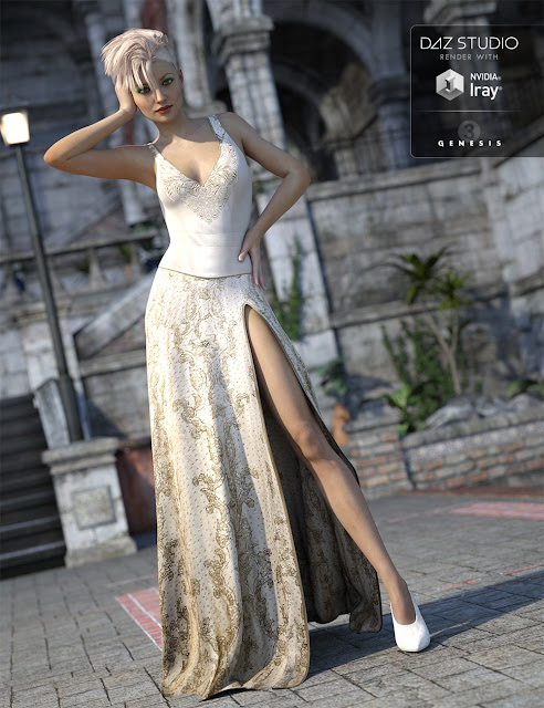 Glamour Outfit Textures