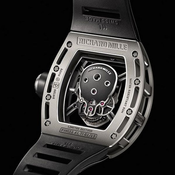 Tourbillon RM 052 Skull Watch by Richard Mille