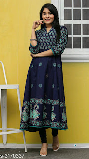 Myhra Stylish Women's Cotton Kurtis