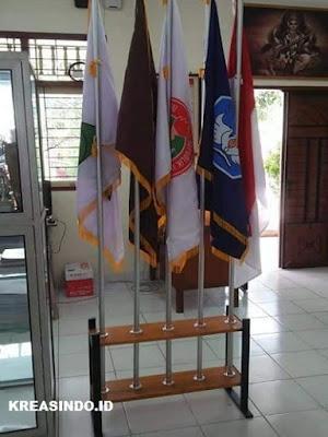 Jasa Tiang Bendera Pataka Besi Lengkap Dengan Dudukan di Jabodetabek Terbaik
