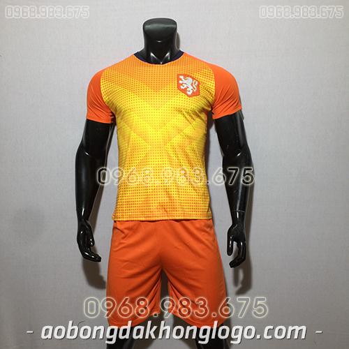 Áo đội tuyển Hà Lan training màu cam 2020