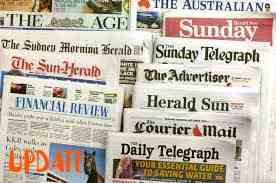 Newspapers At massive
