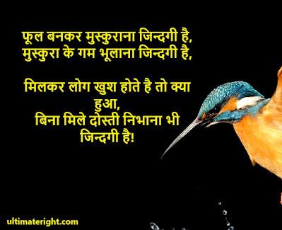 Best Dosti Hindi Friendship Shayari