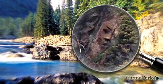 Finalmente descoberto onde fica o misterioso rosto de pedra perdido da Ilha canadense