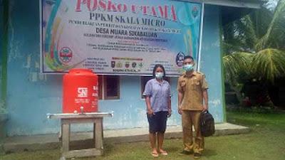 Kapolres Mentawai: Jadikan Posko PPKM Mikro Desa Sebagai Pusat Informasi