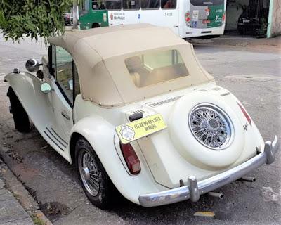 Um raro MP Lafer ano 1990: entre os últimos seis exemplares fabricados em São Bernardo do Campo.