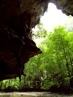Hidden hong in Thalane Krabi