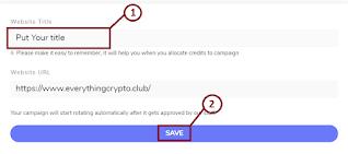 Save website