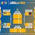 Tres equipos de la Liga Oriental y uno de la Liga Metropolitana serán los protagonistas de las semifinales de la Liguilla Final.