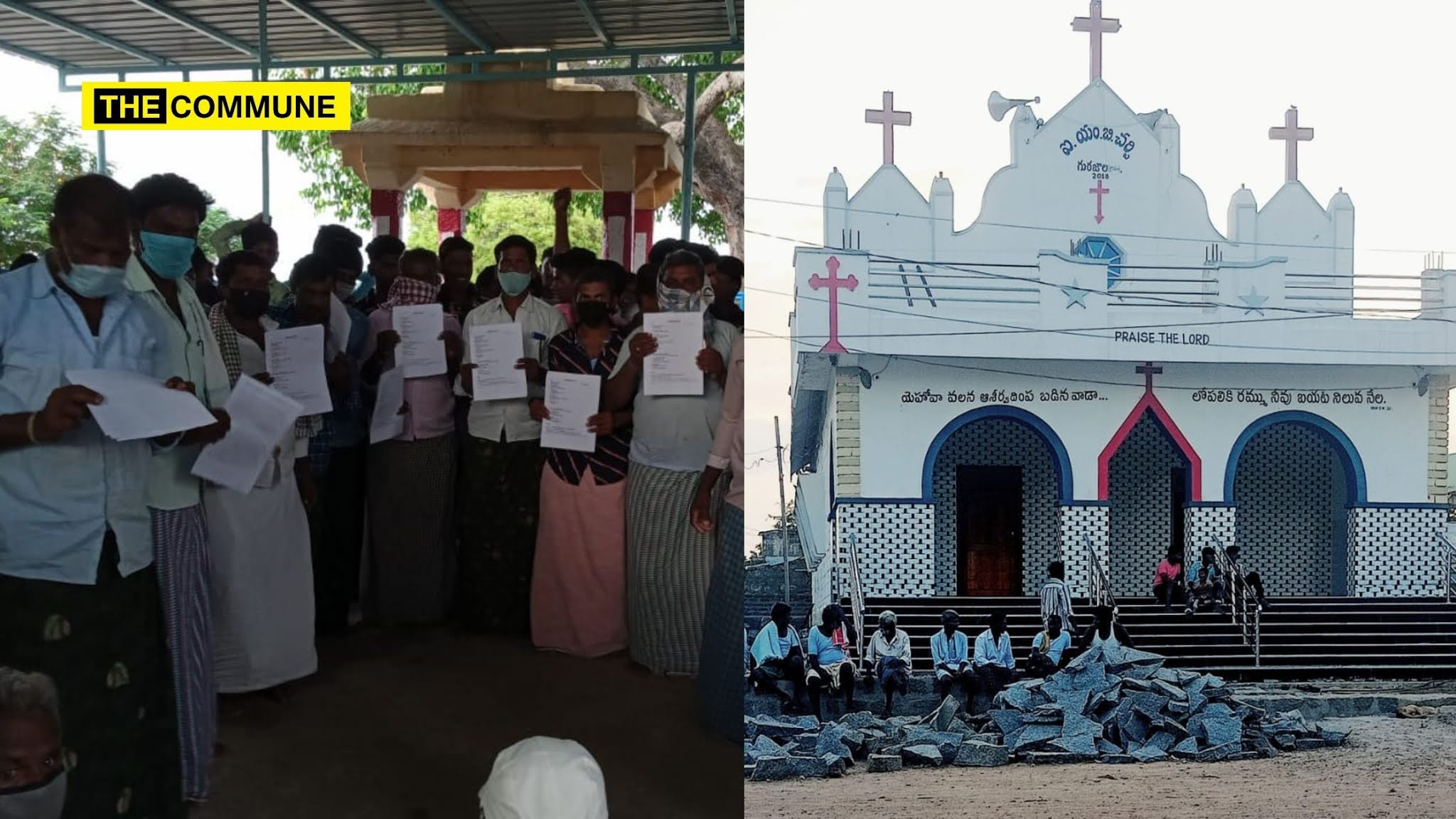 Andhra village passes resolution to curb rising Christian conversions, illegally constructed Church to be removed