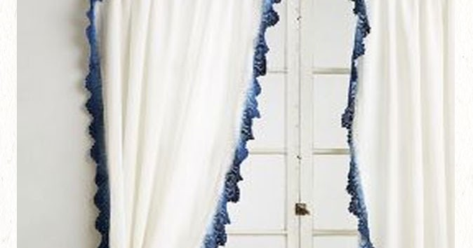 Blue Ombre Window Curtains: Chic Coles: Ombre Curtains