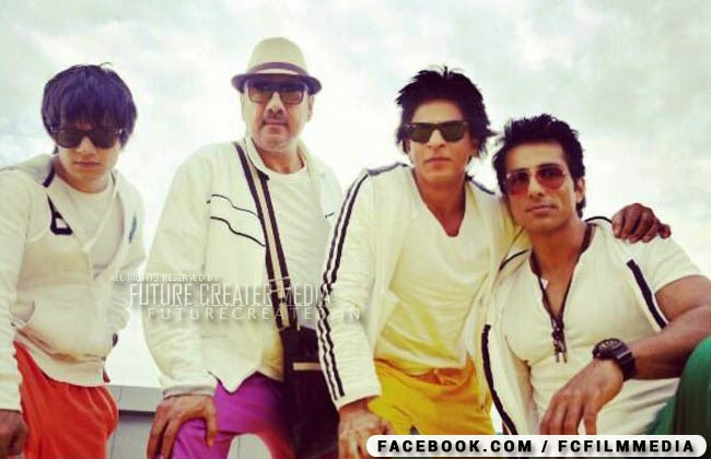 Shahrukh Khan, Sonu Sood, Boman Irani's new look for 'Happy New Year'