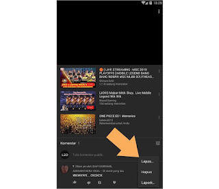 Cara Mudah Membuat Pin Komentar di Video Youtube Android
