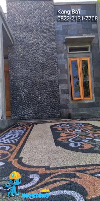 batu sikat motif bali