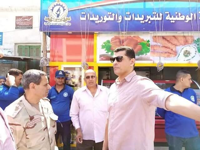 المليجي يضخ بالمزيد من السلع الغذائية التي ترتكز عليها الحياة المعيشية للأسر المصرية بأسعار إقتصادية