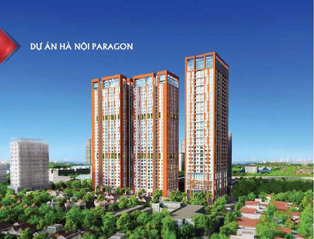Phối cảnh chung cư Paragon Tower