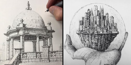 00-Architecture-Drawing-Tim-Stokes-www-designstack-co