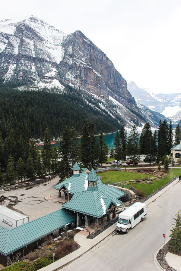 Lake Louise, Fairmont Hotel, Banff, Canada