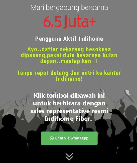 internet IndiHome Kadia - Kota Kendari