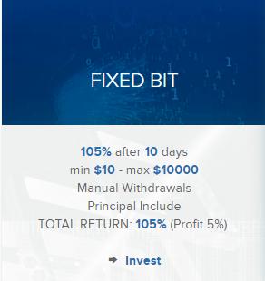 Инвестиционные планы Bit Benefit
