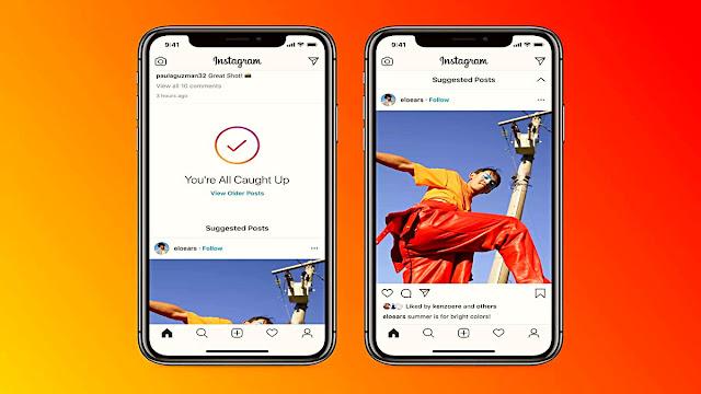 Instagram, Ana Sayfa Akışında Önerilen Gönderileri Listelemeye Başladı