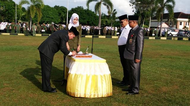 M Kowi Resmi Jabat Sekda Kota Prabumulih