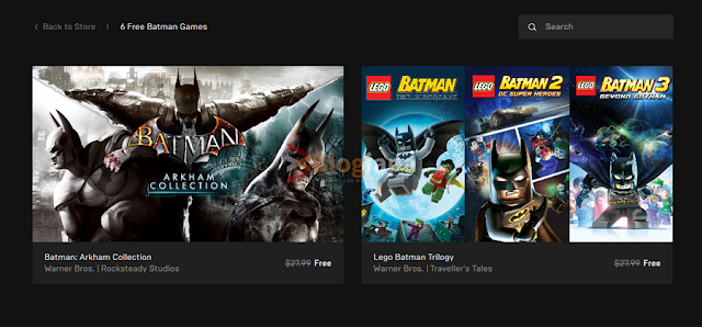 epic games free batman games for pc